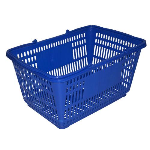 پلاسٹک خریداری ٹوکری کے ساتھ ہینڈلز