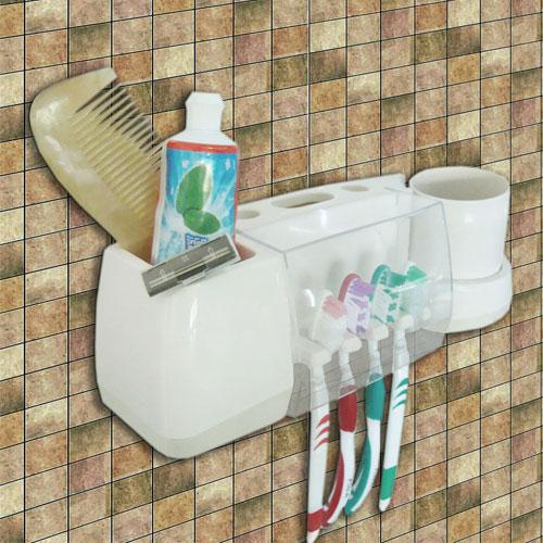 پلاسٹک دانتوں کا برش ہولڈر کے ساتھ کپ